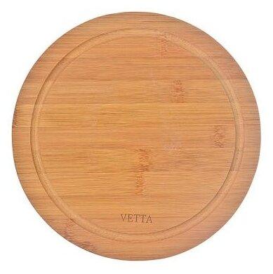 Разделочная доска Vetta 851-122 Гринвуд 23х0.9 см коричневый