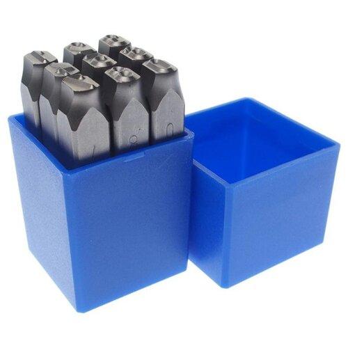 Набор клейм ЗУБР 21501-08_z01 (9 шт.) набор клейм зубр 21501 06 z01 9 шт