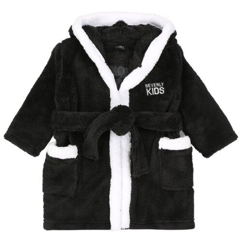 Халат BEVERLY KIDS размер 80, черный