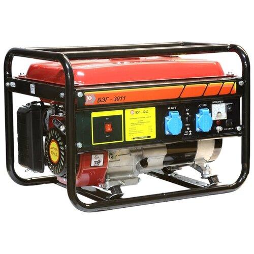 цена на Бензиновый генератор КАЛИБР БЭГ-3011 (2500 Вт)