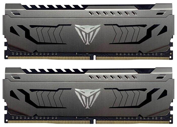 Модуль памяти Patriot Memory Viper Steel DDR4 DIMM 4400MHz PC-35200 CL19 - 16Gb KIT (2x8Gb) PVS416G440C9K