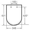 Крышка-сиденье для унитаза Roca Victoria ZRU8013920