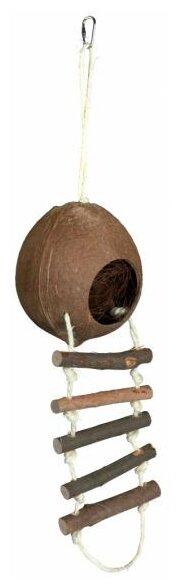 Домик для грызунов TRIXIE из кокоса 62102 13х13х56 см