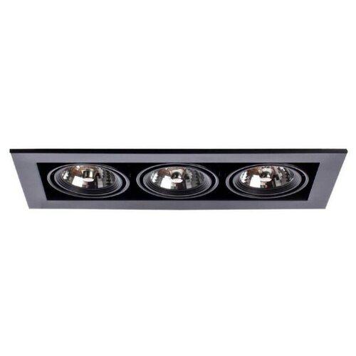 Встраиваемый светильник Arte Lamp Technika A5930PL-3BK встраиваемый светильник artelamp a5930pl 3bk
