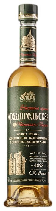 Настойка Архангельская Чесночная с перцем, 0,5 л