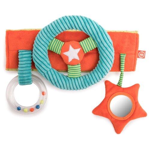 Купить Подвесная игрушка Happy Baby Ты рулишь (330668) голубой/оранжевый/зеленый, Подвески