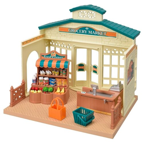 Купить Игровой набор Sylvanian Families Продуктовый магазин 5315, Игровые наборы и фигурки