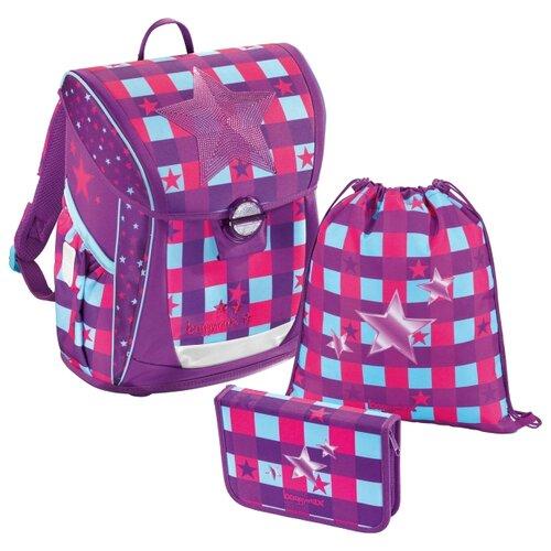 цена на Step By Step Ранец BaggyMax Fabby Pink Star 3 предмета (430097), розовый/фиолетовый