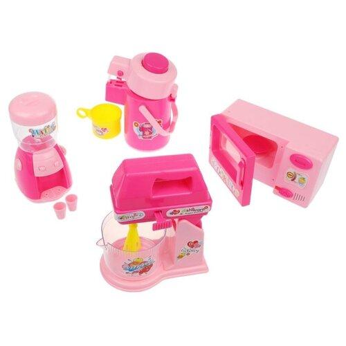 Игровой набор Shantou Gepai 2381749 розовый/желтый недорого