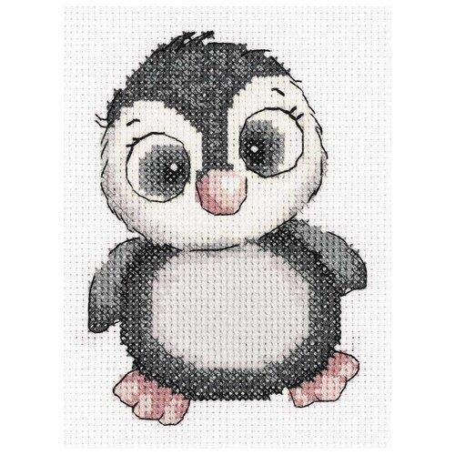 Купить Klart Набор для вышивания Пингвиненок Яся 14.5 х 11 см (8-369), Наборы для вышивания