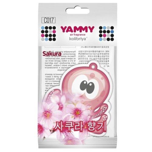 Yammy Ароматизатор для автомобиля C017 Sakura