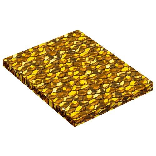 Купить Канц-Эксмо Тетрадь ТПОЛ51206017 в линейку, 120 л., Золотой блеск, Тетради