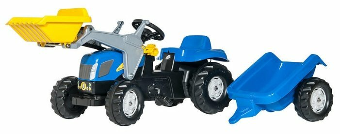 Веломобиль Rolly Toys Kid New Holland T7040 (023929)