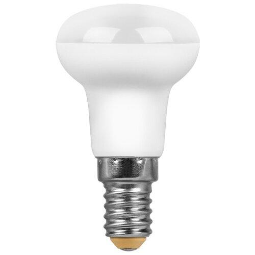 Лампа светодиодная Feron LB-450 25514, E14, R50, 7Вт лампа светодиодная feron lb 59 25575 e14 c35t 5вт