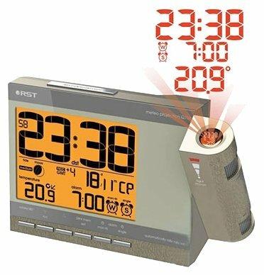 Часы с термометром RST 32758