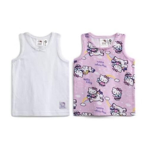 Купить Майка playToday размер 80, белый/розовый/светло-розовый, Белье