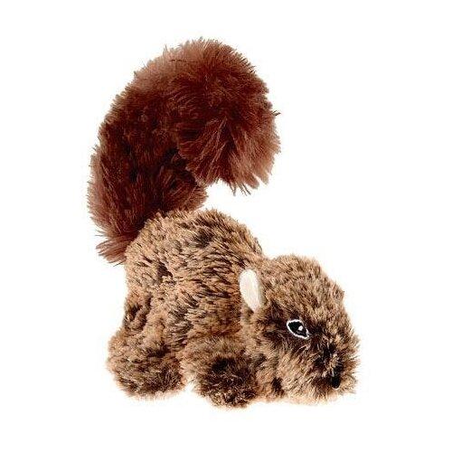 Игрушка для собак GiGwi Plush Friendz Белка (75308) коричневый игрушка для собак gigwi plush friendz белка 75309 коричневый бежевый