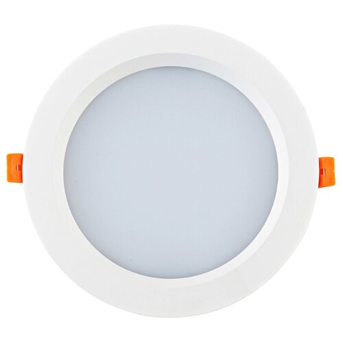 Встраиваемый светильник Donolux DL18891/24W White R встраиваемый светильник donolux dl132g shampagne gold