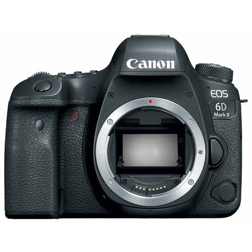 Фотоаппарат Canon EOS 6D Mark II Body черный