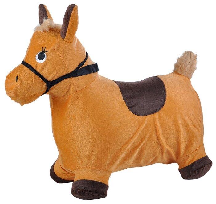 Игрушка-попрыгун Spring Пони с плюшевым чехлом