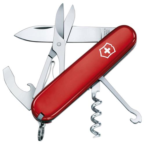 Нож многофункциональный VICTORINOX Compact (15 функций) красный fly life compact красный