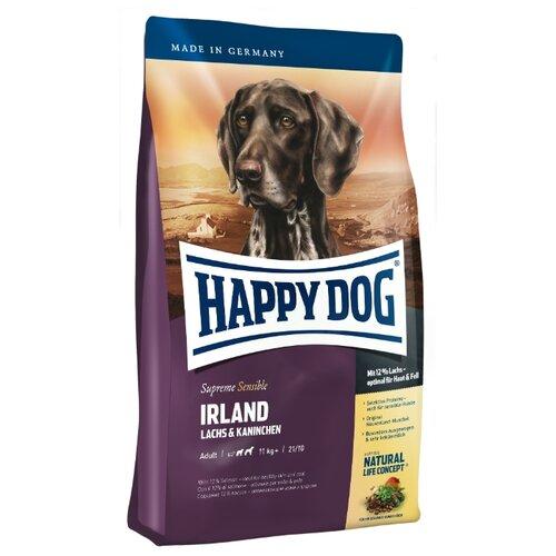 Фото - Сухой корм для собак Happy Dog Supreme Sensible Irland лосось, кролик 4 кг сухой корм happy dog supreme sensible adult 11kg irland salmon