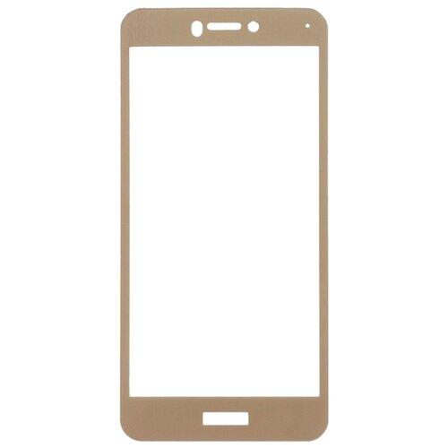 Купить Защитное стекло Gosso FULL SCREEN для Huawei Honor 8 Lite / P8 Lite (2017) золотой
