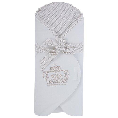 Купить Конверт-одеяло Leader Kids Корона молочный, Конверты и спальные мешки