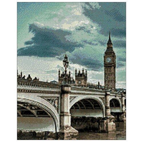 Гранни Набор алмазной вышивки Небо над Лондоном (ag656) 38х48 смАлмазная вышивка<br>