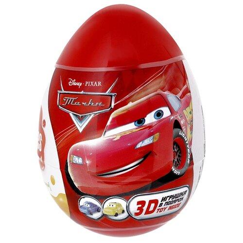 Пастила Конфитрейд Disney Тачки Fruitles 5 г шоколадное яйцо с игрушкой конфитрейд шоки токи disney тачки 20 г