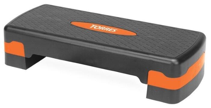 Степ-платформа TORRES AL1005 оранжево-черный