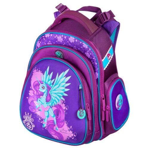Hummingbird Рюкзак Pony Princess (TK34), синий/фиолетовый hummingbird рюкзак miss b t20 серый