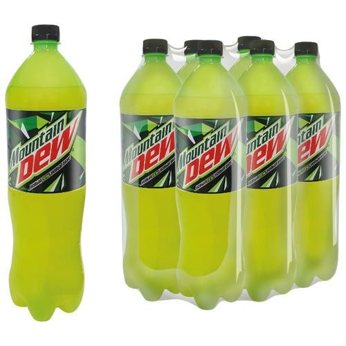 Газированный напиток Mountain Dew Цитрус, 1.5 л, 6 шт.Лимонады и газированные напитки<br>
