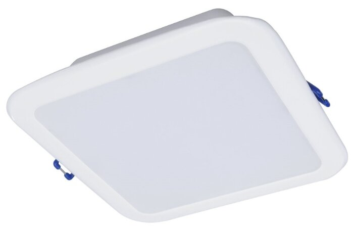 Встраиваемый светильник Philips DN027B LED6/NW L100 SQ 911401813997, белый
