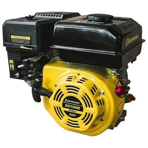 Бензиновый двигатель CHAMPION G210HK двигатель бензиновый champion g250hk