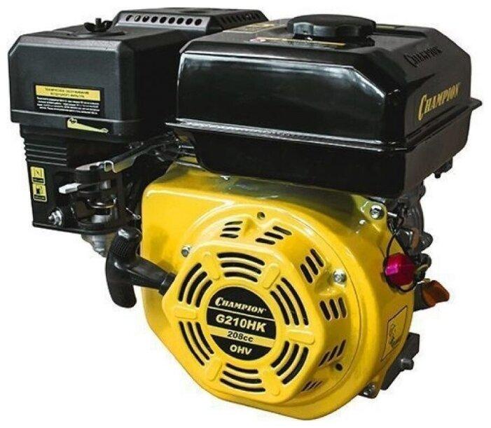 Бензиновый двигатель CHAMPION G210HK