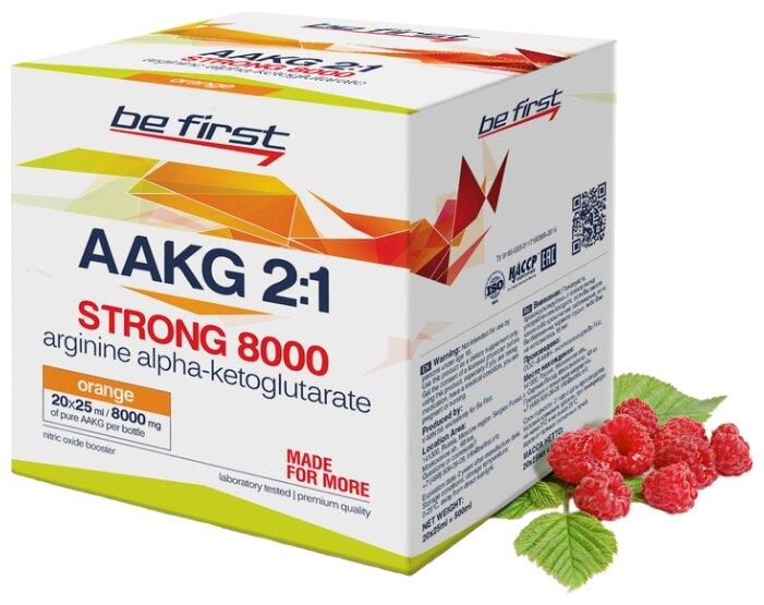 Предтренировочный комплекс Be First AAKG 2:1 Strong 8000 (20 шт.)