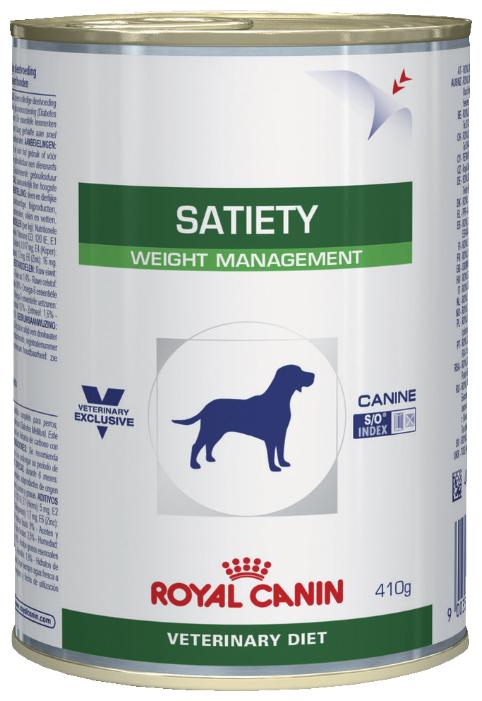 Корм для собак Royal Canin Satiety при сахарном диабете, при избыточном весе 12шт. х 410г