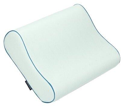 Подушка ортопедическая MemorySleep S Medium Air Aloe, белая