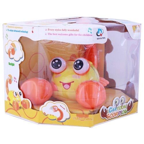 Купить Интерактивная развивающая игрушка Берадо Скорпиончик со светом и звуком, Развивающие игрушки