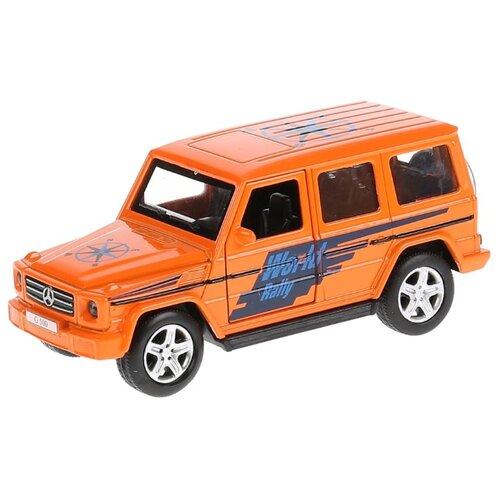 Внедорожник ТЕХНОПАРК Merсedes-Benz G 500 (G-СLASS-S) 12 см оранжевый, Машинки и техника  - купить со скидкой