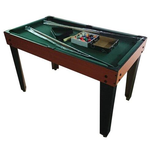 Многофункциональный игровой стол DFC Reflex HM-GT-48202 коричневый/черный