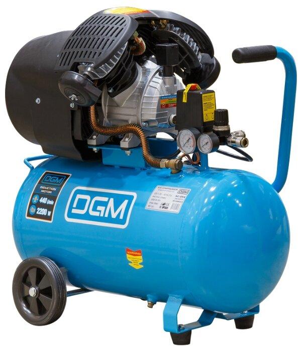 Компрессор масляный DGM AC-254, 50 л, 2.2 кВт