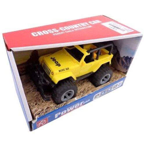 Купить Внедорожник Junfa toys Джип (6686A) желтый, Машинки и техника