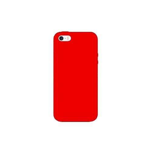 Чехол EVA IP8A001-5 для Apple iPhone 5/iPhone 5S/iPhone SE красный  - купить со скидкой