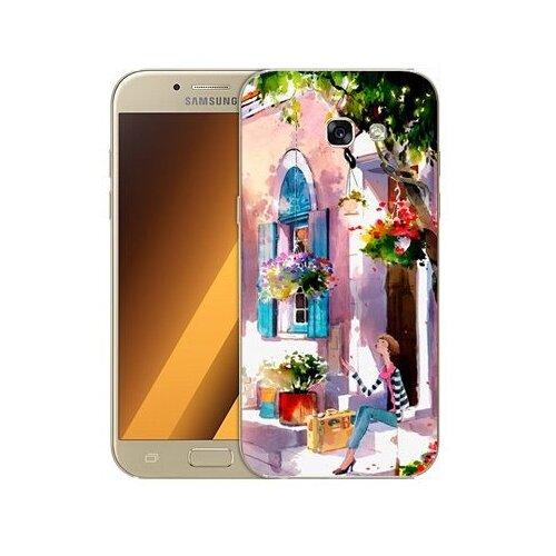 Чехол Gosso 506113 для Samsung Galaxy A5 (2017) девочка на цветущей улочке чехол для samsung galaxy a5 2017 130816