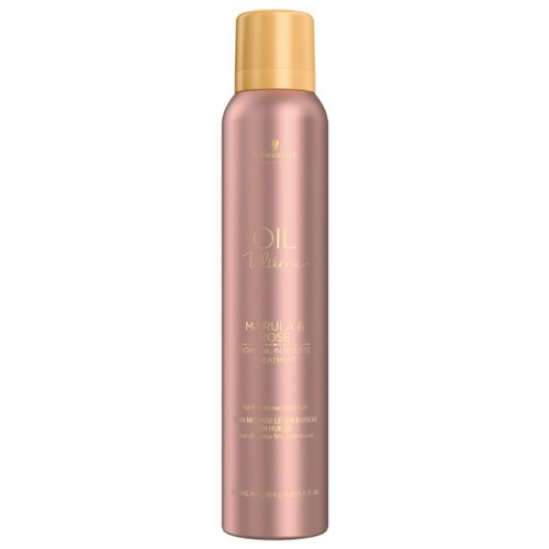 Oil Ultime Маска-мусс Lignt-Oil-in-Mousse, 200 мл schwarzkopf маска мусс oil ultime lignt oil in mousse 500 мл