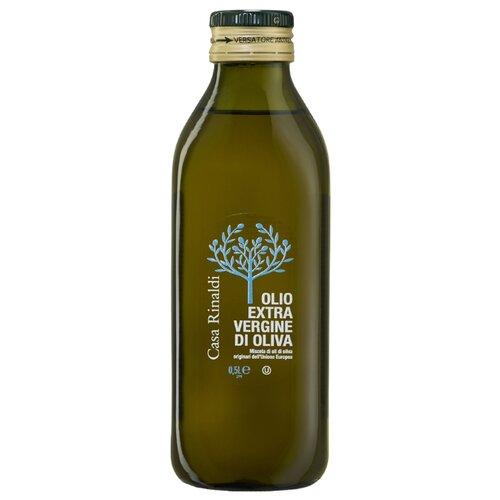 Casa Rinaldi Масло оливковое Extra Virgin, стеклянная бутылка 0.5 л casa rinaldi масло оливковое pomace sansa стеклянная бутылка 0 5 л