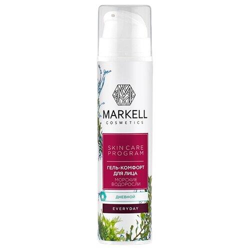 Markell Everyday SKIN CARE PROGRAM Гель-комфорт для лица дневной Морские водоросли, 50 мл markell everyday skin care program крем лифтинг для лица дневной орхидея 50 мл