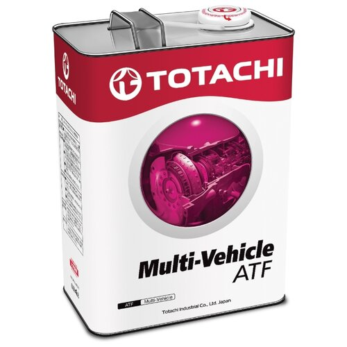 Трансмиссионное масло TOTACHI ATF MULTI-VEHICLE 4 л 3.8 кг трансмиссионное масло totachi atf ws 1 л 1 кг